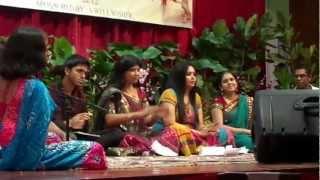 BHAJANS @ KRISHNA JANAMASHTAMI UTSAV 2012 (SINGAPORE)