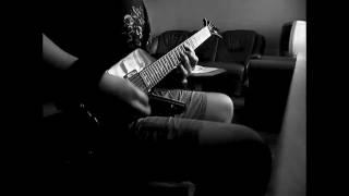 Trivium - Built To Fall ( instrumental guitar cover)