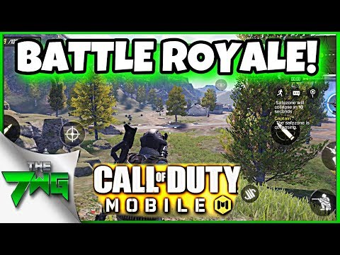 Call of Duty Mobile BATTLE ROYALE IS HERE!