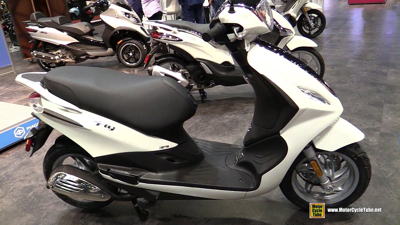 2017 piaggio fly 50 scooter walkaround 2016 aimexpo orlando youtube. Black Bedroom Furniture Sets. Home Design Ideas