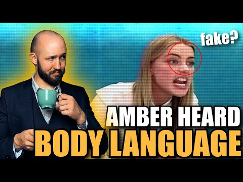 Un analyste du langage corporel RÉAGIT à la déposition CRINGE d'Amber Heard | Visages épisode 15