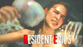Jill Valentine Ryona - Hunter Beta VS Pale Head - Resident Evil 3