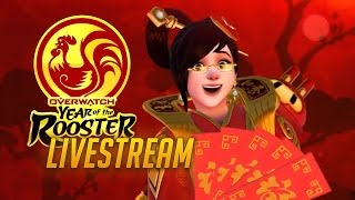 Overwatch Lunar Festival Event Livestream w/Loot Box Opening