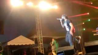 Tarrus Riley at Rebel Salute 2015  Push to the limit- Stay with you*