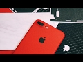 New RED iPhone 7 dBrand Skin (product red)