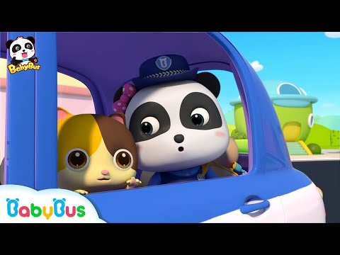 Baby Panda Policeman | Super Panda's New Mission | Kids Role Play | BabyBus