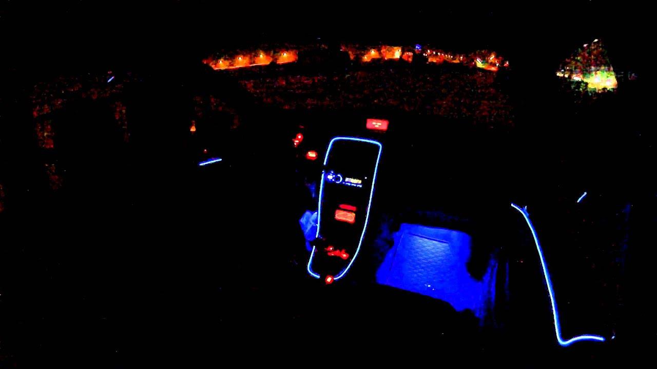 Peugeot 307 DIY Ambient Lighting  YouTube