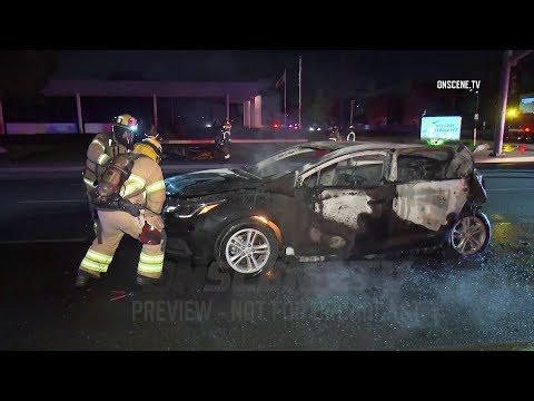 Santa Ana: Fiery Crash Kills One, Injures Five Others