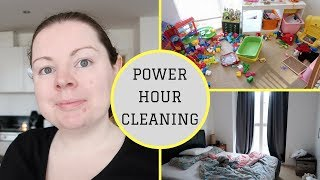 POWER HOUR CLEANING 2018 || SAHM SPEED CLEANING