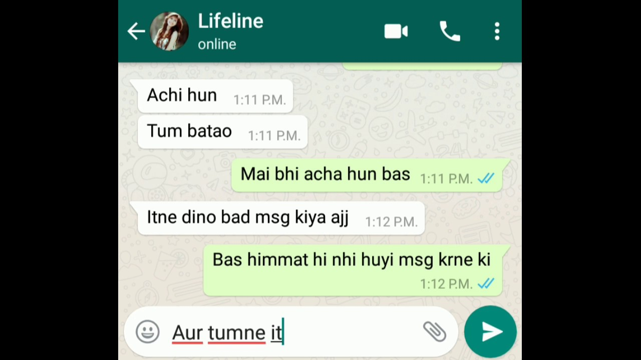 How to impress a boyfriend on chat in hindi
