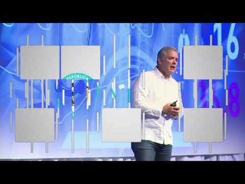 Justicia digital, blockchain y salud, temas abordados por Iván Duque en Andicom 2018 C34 N2