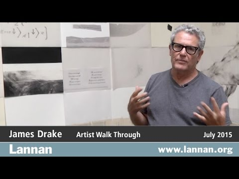 Artist Walk Through: James Drake in Anatomy of Drawing and Space: Brain Trash, 9 July 2015