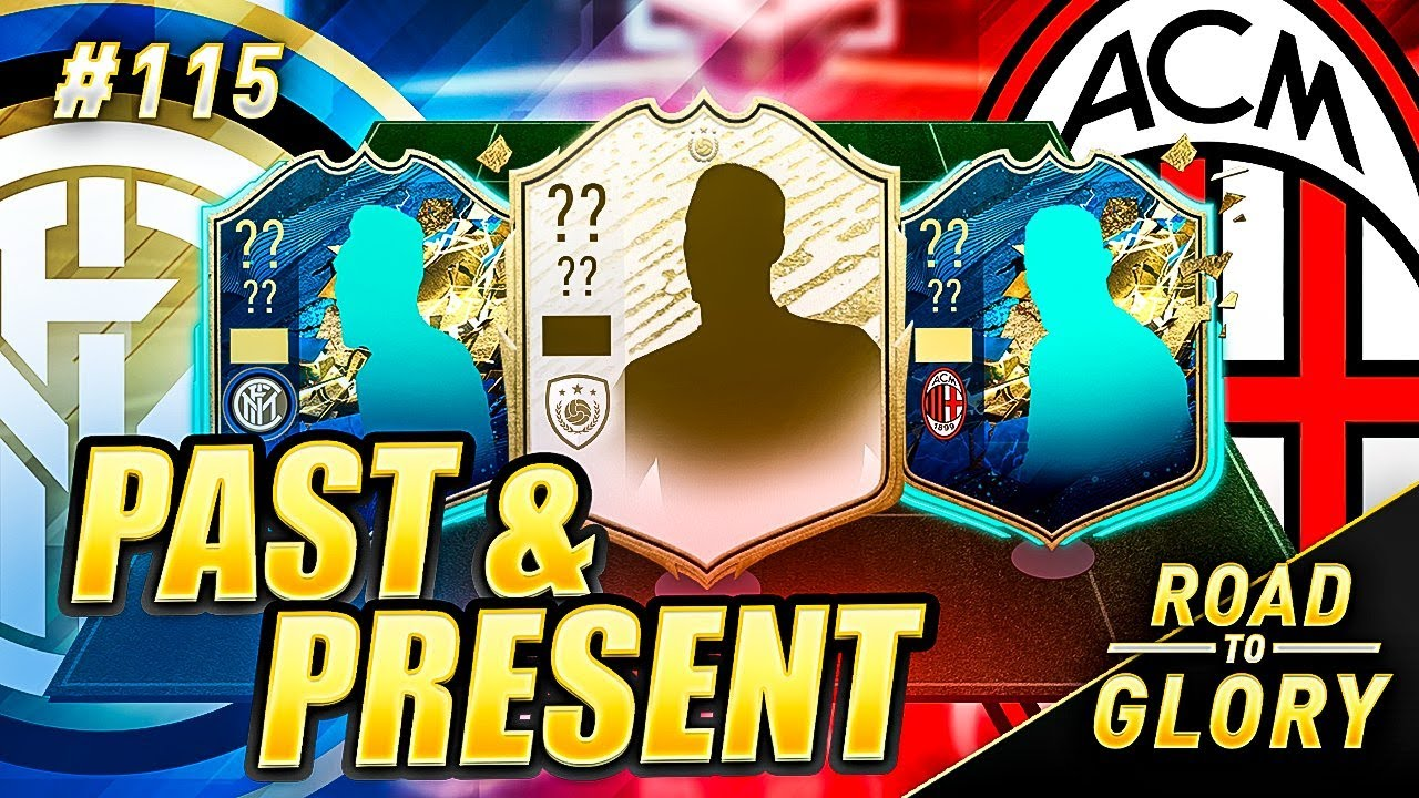 PAST AND PRESENT INTER AND AC MILAN TEAM ON THE ROAD TO GLORY! FIFA 20 ULTIMATE TEAM #115