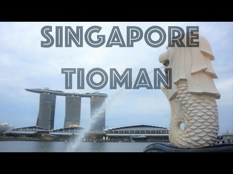Trip to Singapore/Paulo Tioman Island (Malaysia) [Travel Vlog]