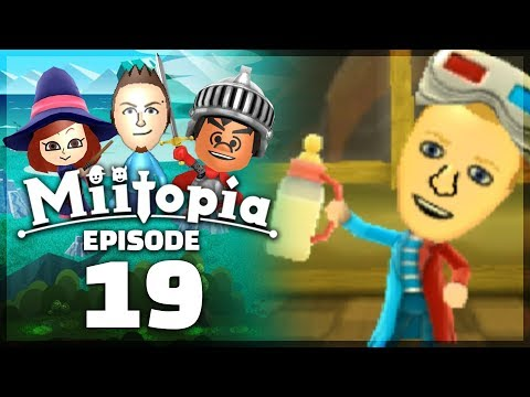 Miitopia - Part 19: LEGENDARY BABY BOTTLE! [Nintendo 3DS Full Version]