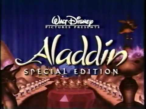 Opening to Aladdin 2004 VHS