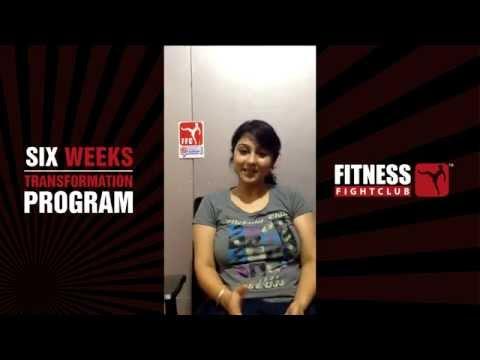 Akansha - Participant, Six weeks Transformation Program at Fitness Fight Club Bangalore