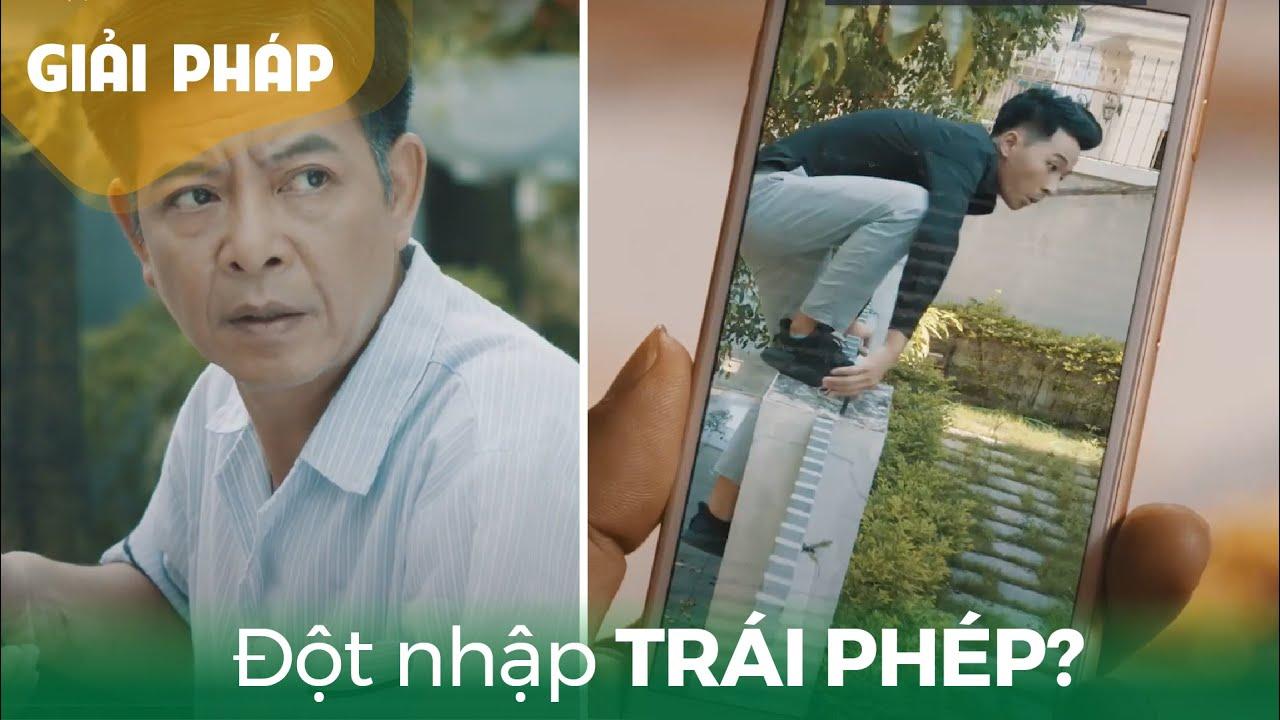 An Ninh Lumi: Đột Nhập Trái Phép - Phải Chạy Mất Dép | TVC Lumi 2019