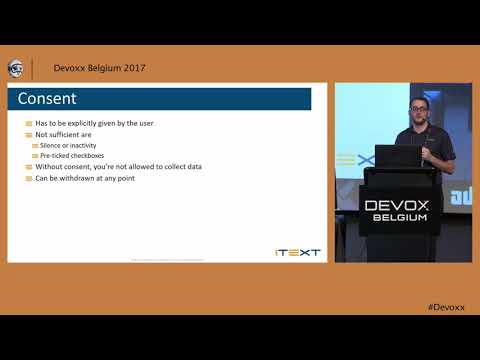 The impact of the GDPR by Michaël Demey