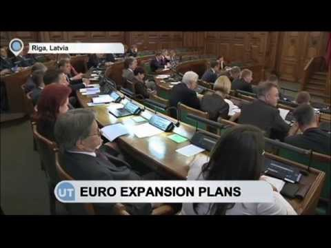 Latvia Marks First Year of Euro: Lithuania set to adopt EU currency in 2015