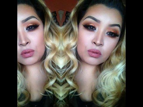 Full Face | Copper Glitter Eyes