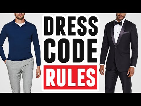 17631975e A Guide To Social Dress Codes For Men (Clothing Etiquette Rules)