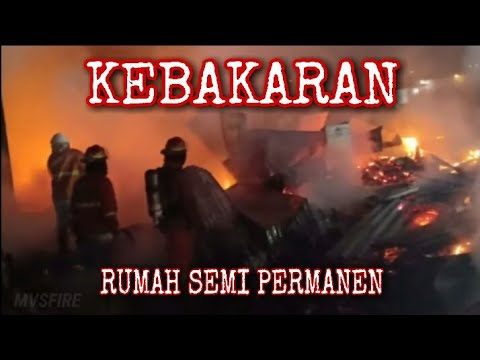 SUB FIRE: Responding Kebakaran Jl Tambak Dalam
