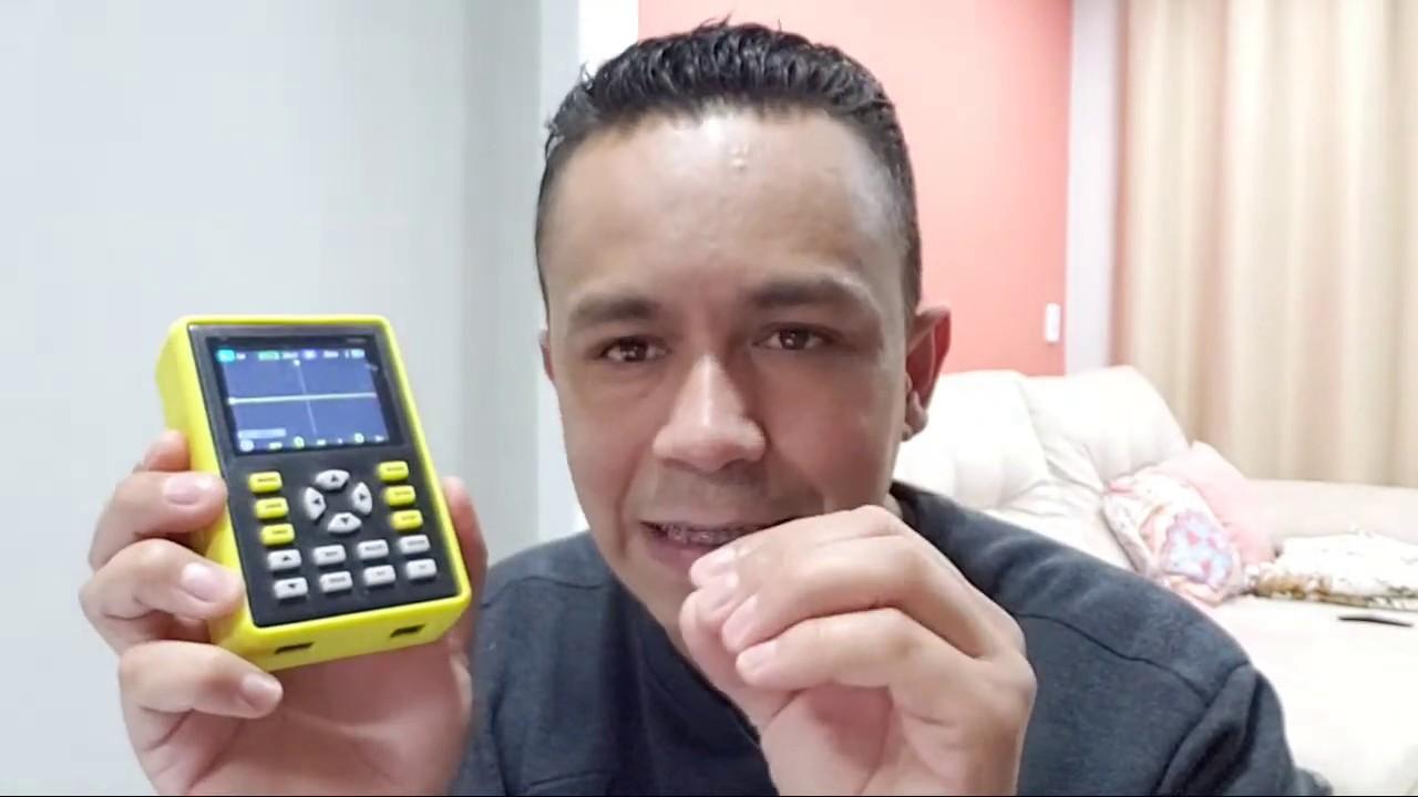 Respondendo Seguidores!! sorteio Osciloscópio Digital Daniu ADS5012H Portátil