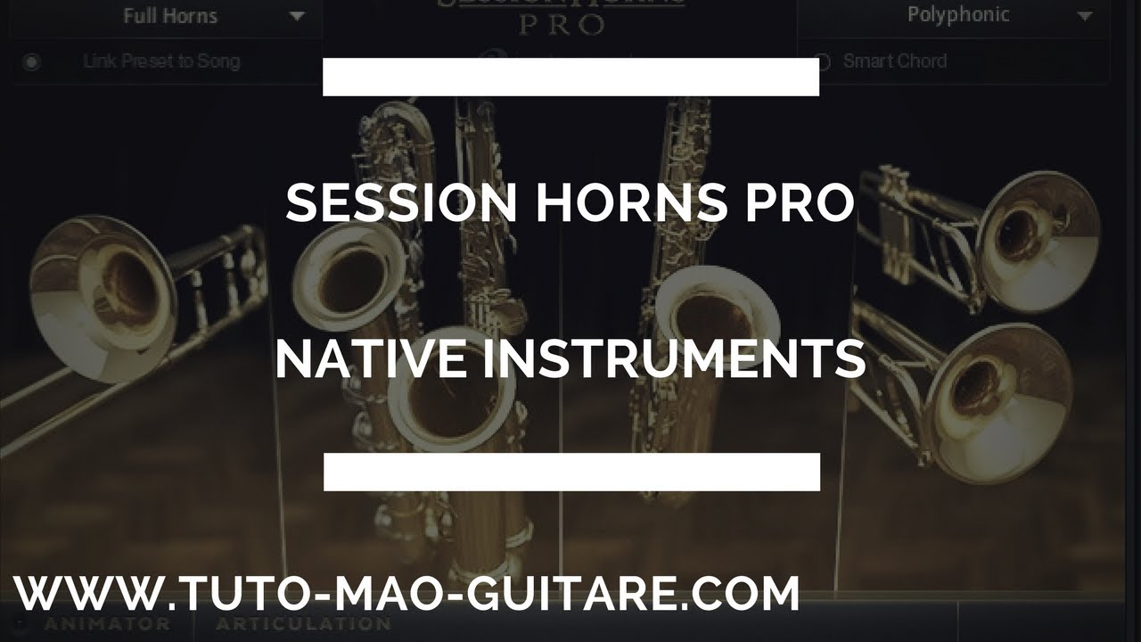 kontakt session horns pro