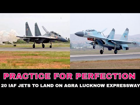 20 IAF jets to land on Agra Lucknow Expressway on Oct 24