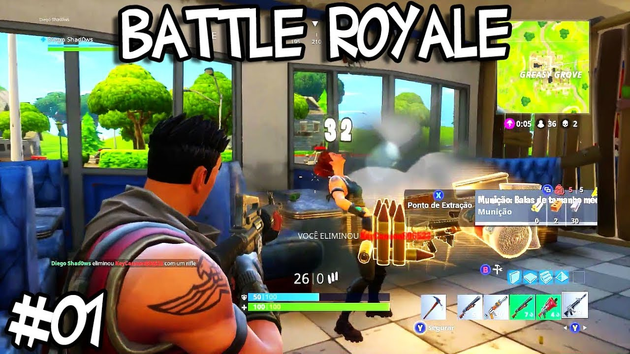 Fortnite Battle Royale Xbox One 01 Youtube