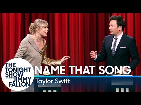 Alex Mac - Taylor Swift vs. Jimmy Fallon in 'Name That Song' on The Tonight Show
