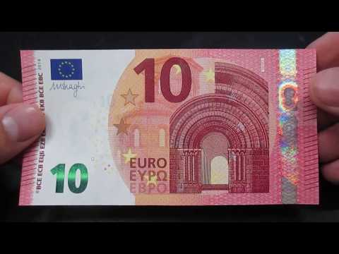 Banconota 10 Euro Serie Europa BCE EU
