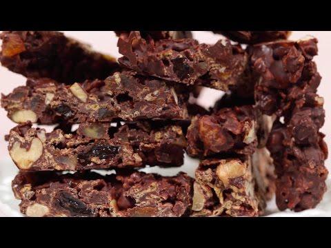 Chocolate Nut Bars (Valentine
