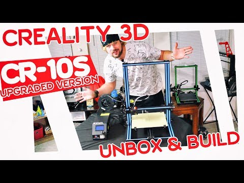 ✔ Creality CR-10S Upgraded Version COMPLETE REVIEW! | WORTH THE EXTRA CASH?