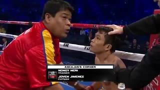 Jerwin Ancajas vs Tanawat Phonnaku, Lakas ng Suntok BAGSAK AGAD ang Kalaban