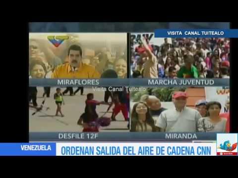 Nicolás Maduro suspende emisiones de CNN en Español en Venezuela Video