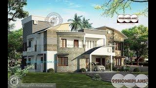 Indian House Design By 99HOMEPLANS COM [ Esp: 080 ]