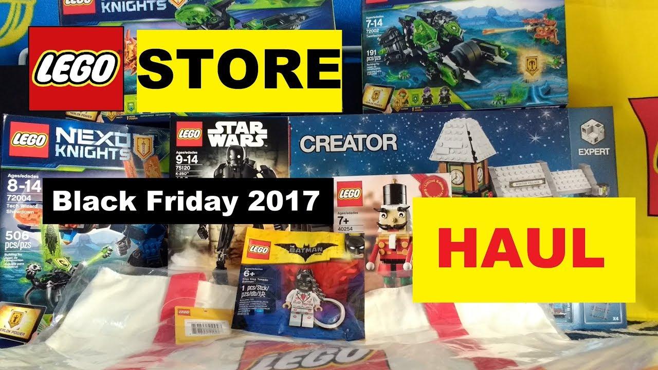 Lego Store Black Friday Haul (Nov 27, 2017)