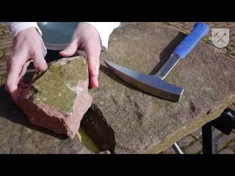 How to classify a rock: sandstone