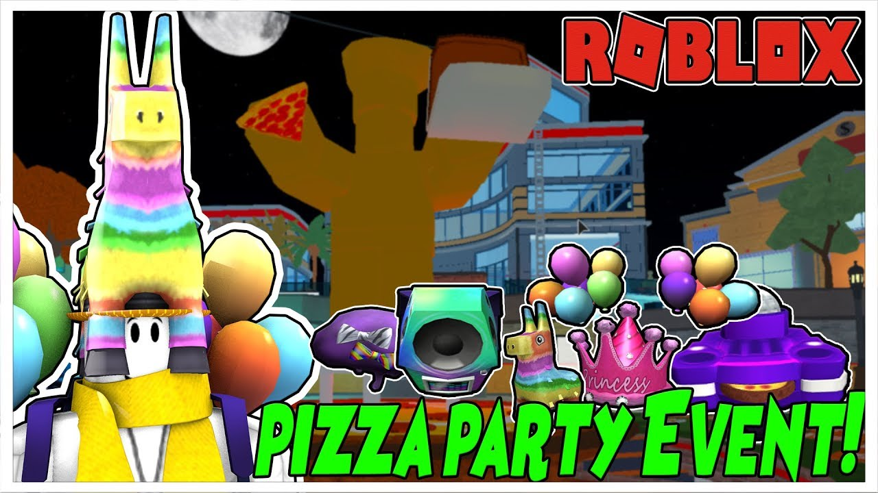 Roblox Pizza Party Event Sign Up