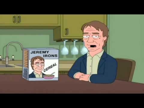 Jeremy Irons Cereal.divx