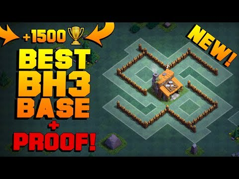 LITERALLY THE BEST Builder Hall 3 Base w/ PROOF! | NEW CoC 95% WIN RATE BH3 BASE!! | Clash of Clans