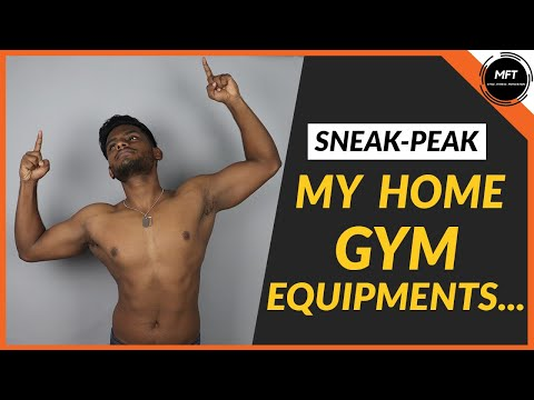 MY HOME GYM Equipments - SNEAK PEAK | Men's Fashion Tamil