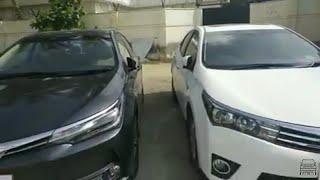 Toyota Corolla Altis Grande - Preface-lift vs Face-lift Review