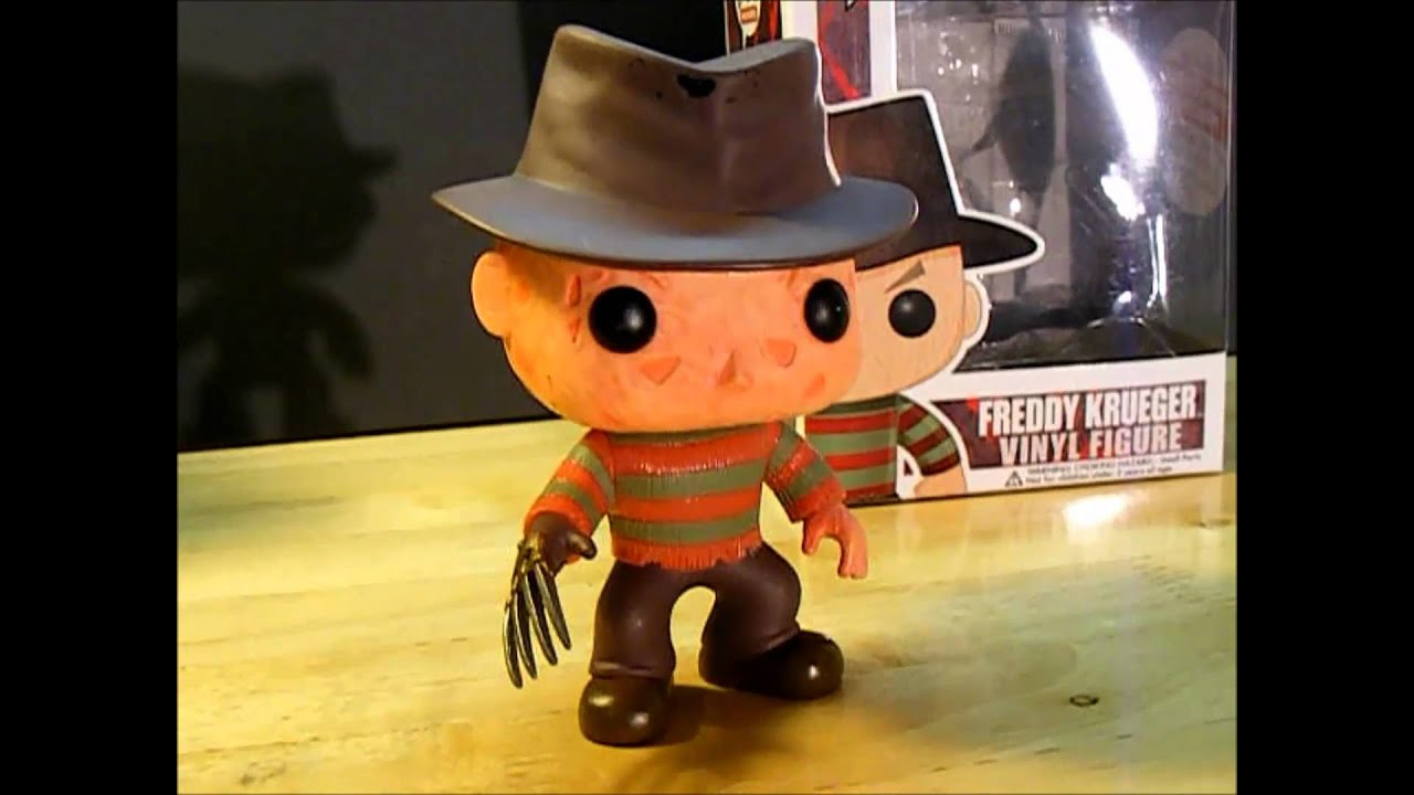 Freddy Krueger Pop Movies Vinyl Figure By Funko Youtube