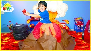 How Do Volcano Erupt? |  Educational Video for kids with Ryan ToysReview