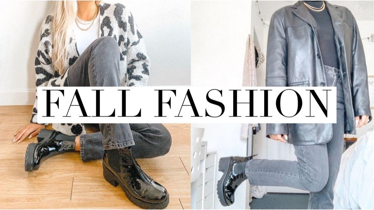 [VIDEO] - FALL OUTFITS   fall fashion lookbook 2019 2