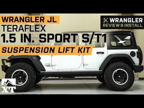 "jeep-wrangler-jl-teraflex-1.5""-sport-s/t1-suspension-lift-kit-(2018-2019)-review-&-install"