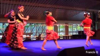 Folk Dance Performed by Maharastra Mandal & Nepalese Society during Holi Festival, Singapore